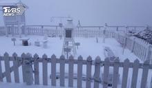 北台濕冷連下7天雨 玉山「初雪時間曝」有望堆雪人