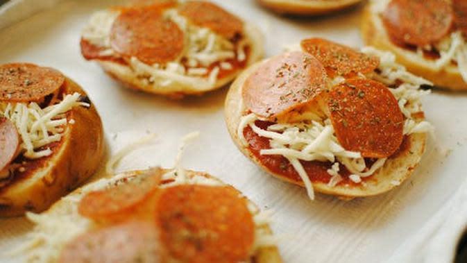 ilustrasi pizza mini (sumber: pexels)