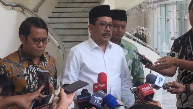 Wakil Menag Zainut Tauhid (M Genantan/Merdeka.com).