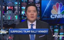 Surprising Trump rally winner?