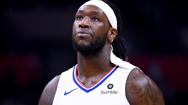 'Ninja-style headwear', popularised by the likes of Clippers big man Montrezl Harrell, pictured, has been banned by the NBA.