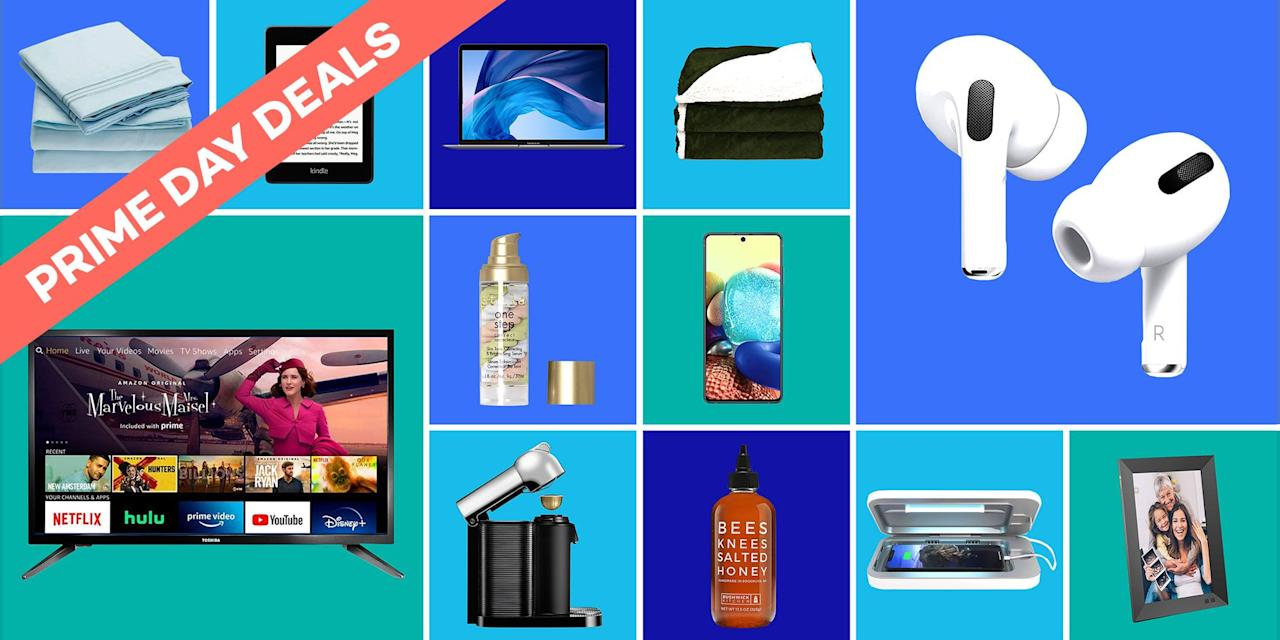 "<p>The big day is finally here! Prime Day, Amazon's annual Prime-member-exclusive sale event, will be in full swing through Wednesday, Oct. 14. Enjoy significantly slashed prices across the site — even on big-ticket items like TVs, laptops, appliances (even iconic <a href=""https://www.bestproducts.com/appliances/small/a25023439/best-air-fryers-for-healthy-cooking/"" target=""_blank"">air fryers</a> and <a href=""https://www.amazon.com/Instant-One-Touch-Multi-Use-Programmable-Pressure/dp/B07RCNHTLS/ref?tag=syn-yahoo-20&ascsubtag=%5Bartid%7C2089.g.2961%5Bsrc%7Cyahoo-us"" target=""_blank"">Instant Pots</a>), and of course, beloved Amazon-branded products, such as Echo devices and Kindle e-readers.</p><p>Prime Day usually takes place over a 2-day span in July, but this year, Amazon decided to hold off on the midsummer special savings in light of the COVID-19 outbreak.</p><p>You've waited long enough, so take a look at some of the best deals happening right now, and make sure that you have an <a href=""https://www.amazon.com/amazonprime?tag=syn-yahoo-20&ascsubtag=%5Bartid%7C2089.g.2961%5Bsrc%7Cyahoo-us"" target=""_blank"">Amazon Prime membership</a> to get in on all of the spectacular Prime Day savings. </p>"