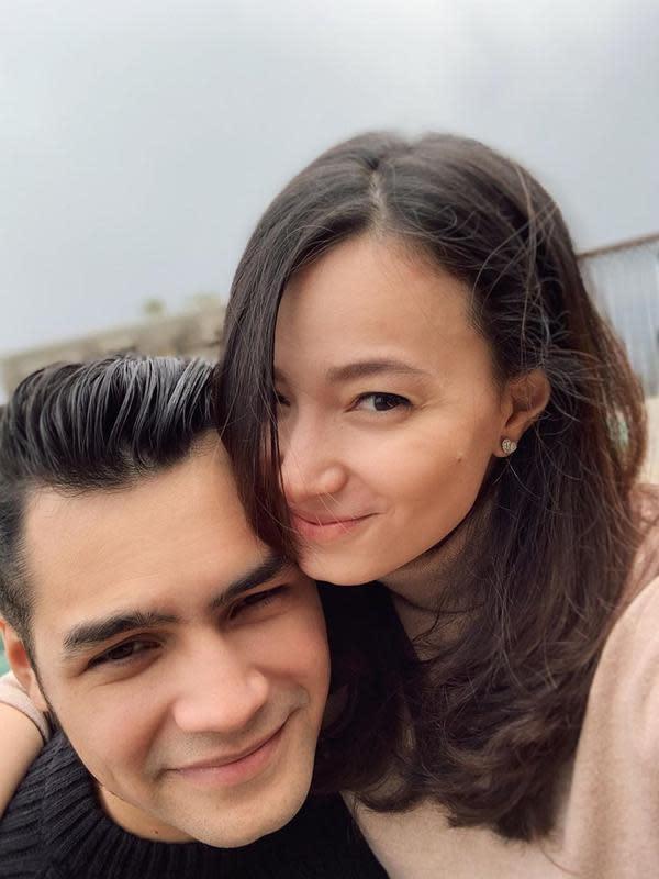 Asmirandah dan Jonas Rivano. (Foto: Instagram @asmirandah89)