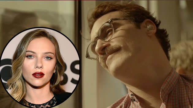 Joaquin Phoenix Falls for Scarlett Johansson in 'Her' (But It's Not What You Think)