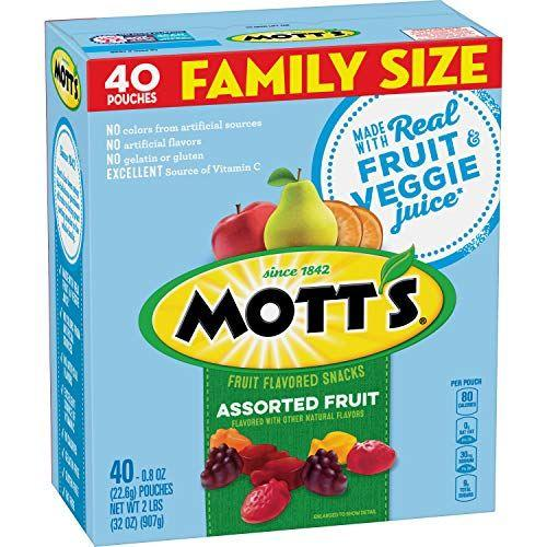 """<p><strong>Mott's Fruit Snacks</strong></p><p>amazon.com</p><p><strong>$5.88</strong></p><p><a href=""""https://www.amazon.com/dp/B00Z9YV15A?tag=syn-yahoo-20&ascsubtag=%5Bartid%7C10070.g.28833000%5Bsrc%7Cyahoo-us"""" target=""""_blank"""">Shop Now</a></p><p>These classic fruit snacks will be the envy of all your little one's friends. They're so tasty and chewy that your kid won't even wonder if they've got gluten or not.  </p>"""