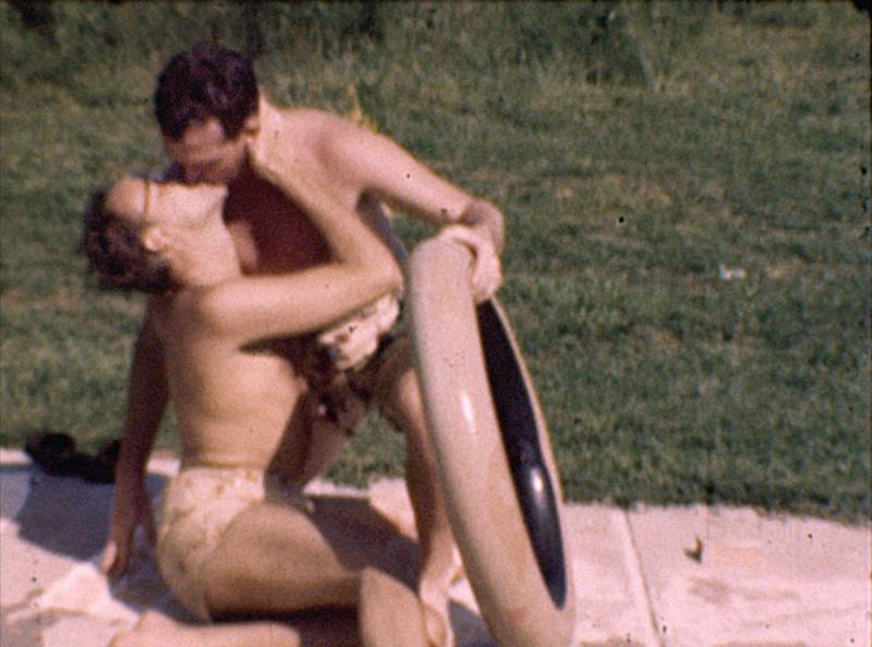 """""""Gay Home Movie"""" will feature footage of Missouri pool parties that took place around 1945. Director Geoff Story uncovered the mysterious footage at a 1996 estate sale in Missouri. (Courtesy of Geoff Story )"""
