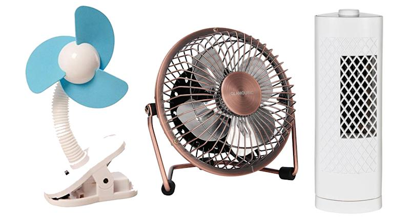 These fans are sure to keep you cool throughout the heatwave