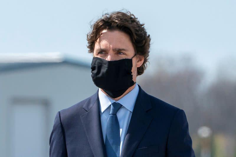 Canada coronavirus death toll passes 5,000, Trudeau wants seniors' care reform