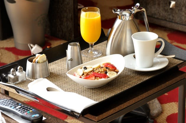 Room service disappears from some hotels