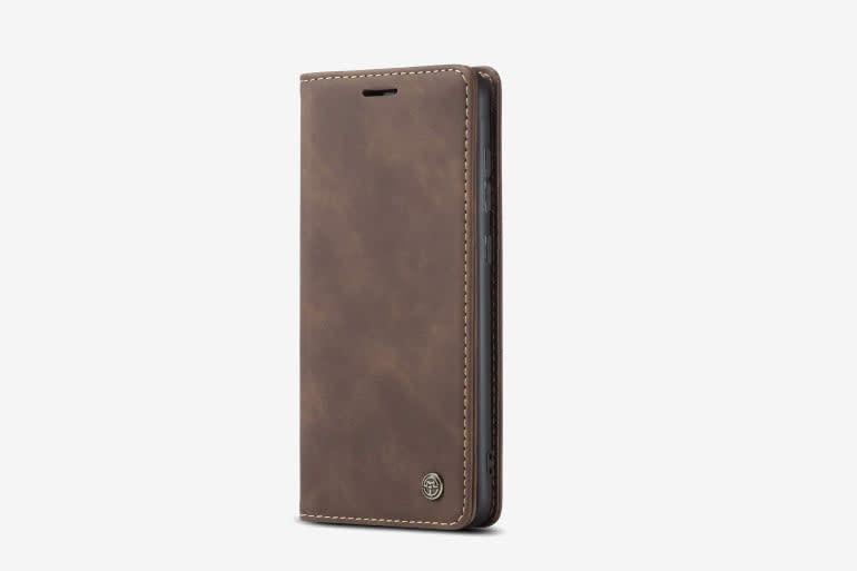 Simicoo Huawei P40 Pro Plus Vintage Leather Case