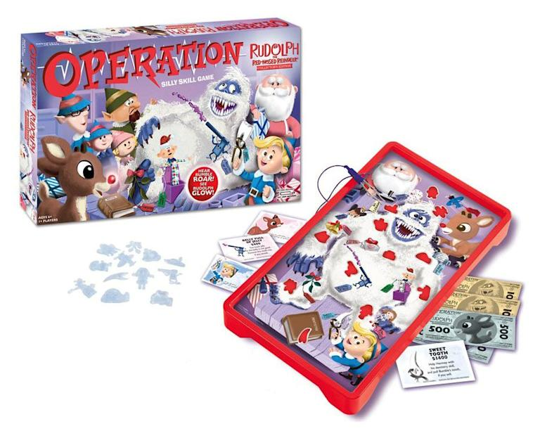 """Rudolph the Red-Nosed Reindeer"" Operation Game"