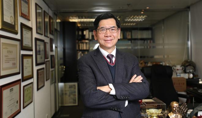 HKEAA chairman Samuel Yung works in the insurance sector. Photo: Xiaomei Chen