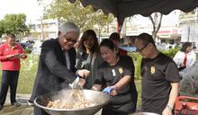 全國薑母鴨料理王競賽 李進勇:共同行銷雲林優質鴨肉