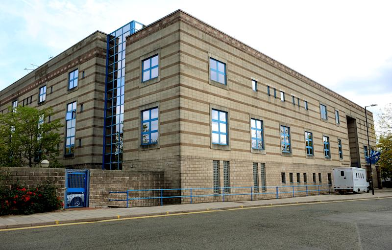 PC Ankrett appeared at Wolverhampton Crown Court on Thursday morning. (PA)