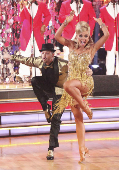 Mark Ballas and Katherine Jenkins (4/23/12)