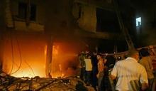 黎巴嫩首都油槽爆炸起火 4死逾30傷