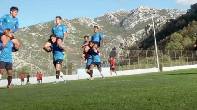 Latihan Timnas Indonesia U-19 di Kroasia