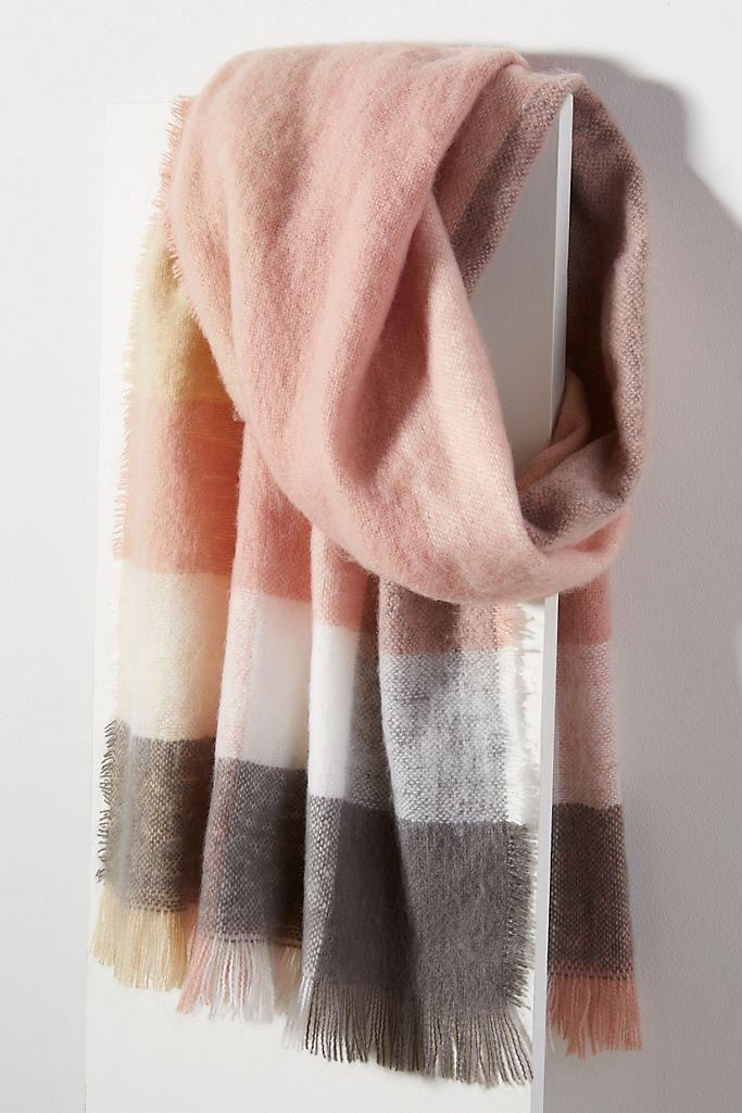 Briar Striped Scarf. Image via Anthropologie.