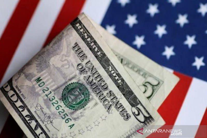 Dolar menguat tipis di tengah sentimen penghindaran risiko