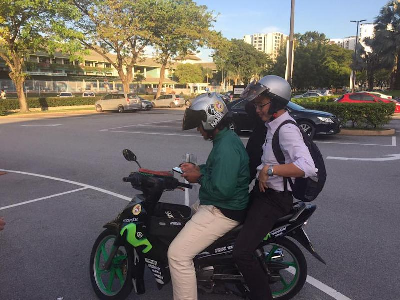 Dego Ride services have resumed following the government's latest announcement. Its founder is eyeing first-mover advantage for motorcycle taxi services. — Picture via Facebook/degomalaysia