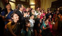 吳釗燮出席印度排燈節晚會(2) (圖)