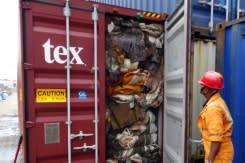 Sri Lanka kirim balik kontainer berisi sampah ke Inggris