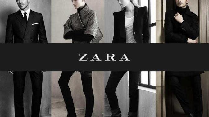 Ilustrasi Brand Zara Credit: Liputan6.com