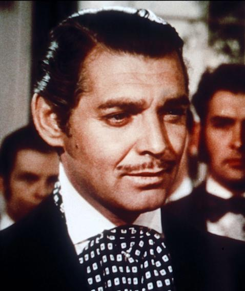 Mustache Gallery Clark Gable Gone with the Wind