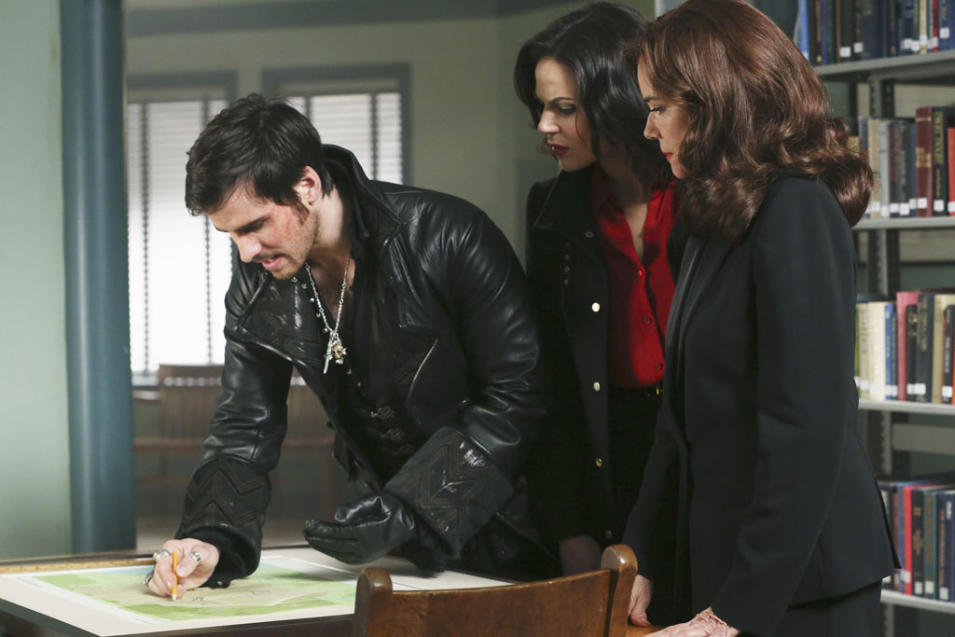 """Once Upon a Time"" -- ""Manhattan"" COLIN O'DONOGHUE, LANA PARRILLA, BARBARA HERSHEY"