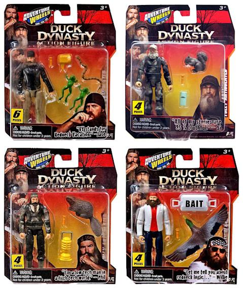 """Duck Dynasty"" Merchandise: Action Figures"