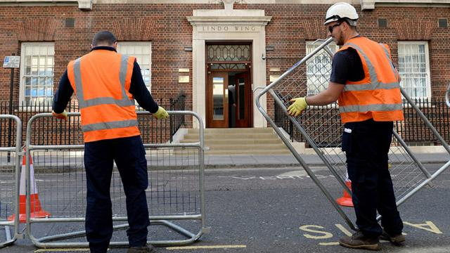 Royal Baby No. 2 Prep Is Officially Underway for Kate Middleton & Prince William's Big Day!