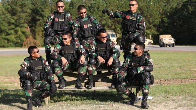 Pasukan Tengkorak Putih TNI Berguru ke Amerika
