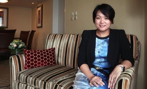 Jessica Tan Sin-yin, co-CEO of Ping An Insurance (Group) Company of China. Photo: Jonathan Wong