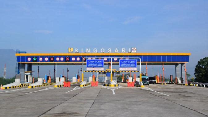 Jalan Tol Pandaan-Malang Seksi I-III sepanjang 30,6 km.