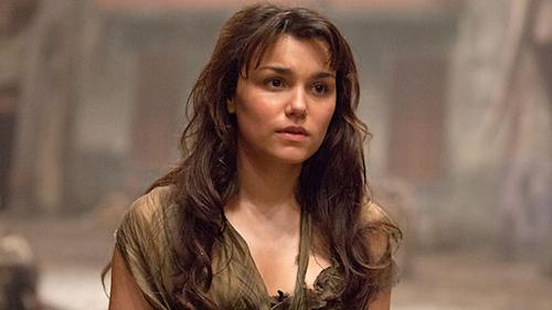 'Les Misérables' star Samantha Barks breaks out on Blu-ray and DVD, sings praises of Hugh Jackman, Sacha Baron Cohen, and Eddie Redmayne