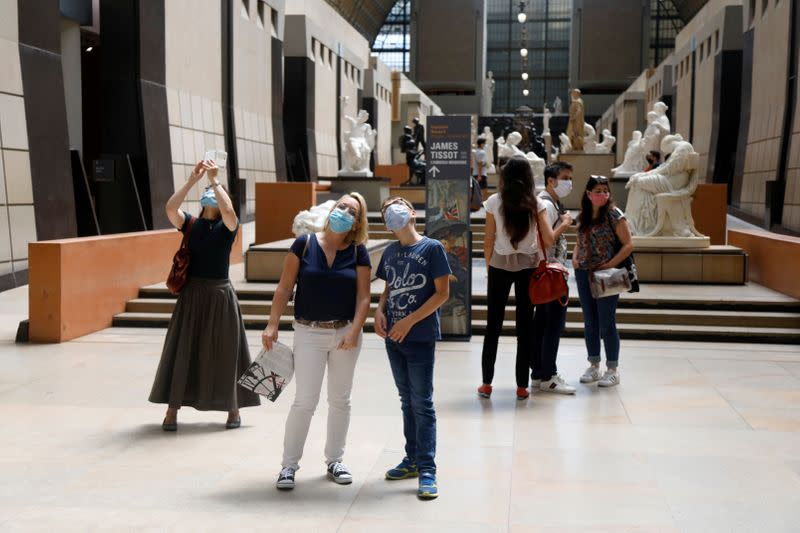 Paris' iconic Musee d'Orsay re-opens