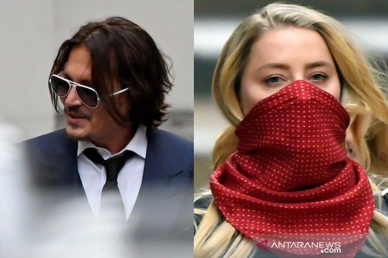 Daftar testimoni Amber Heard versus Johnny Depp di persidangan