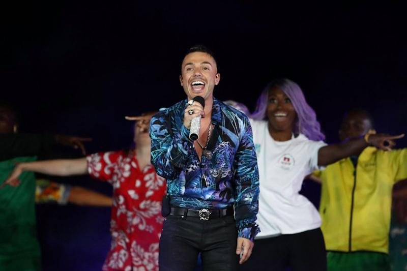 Another former Australian Idol star, Anthony Callea. Source: Getty