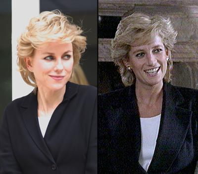 First Look at Naomi Watts' Princess Diana Makeover