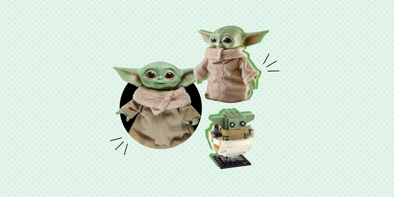 """<p>Let's get one thing clear right off the bat: We know that the breakout character of <em>The Mandalorian</em>, the <em>Star Wars</em> series on Disney+, is not actually called Baby Yoda. At 50 years old, he might not even be a baby. (For that matter, he might not even be a """"he."""") The official name of the adorable scamp who becomes the Mando's young ward is just The Child. But he'll always be Baby Yoda in our hearts, because, well, that's what he looks like.</p><p>And fans of <a href=""""https://www.goodhousekeeping.com/holidays/gift-ideas/g30057062/baby-yoda-fans-gift-guide/"""" target=""""_blank"""">Baby Yoda</a> (excuse us, The Child) have a lot to celebrate. Unlike when the show first premiered, there are a ton of Baby Yoda that are finally out on the market (and a couple coming out soon), so you've got birthday and holiday gifts for everyone you know <em>sorted</em>. And there really is something for everyone: talking toys for kids, <a href=""""https://www.goodhousekeeping.com/holidays/gift-ideas/g29624061/star-wars-gifts/"""" target=""""_blank"""">Star Wars gifts</a> for collectors, builder sets for LEGO fans and huggable plushes for, well, everyone who saw Baby Yoda pop up on screen and immediately wanted to adopt him. There are Child figures in every size, talking and non, to fit any nook in any bedroom. Just watch your frogs — The Child has been known to slurp them up.</p>"""