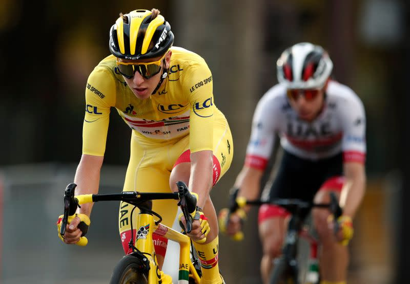 Cycling: Stunning Pogacar claims maiden Tour title in anti-climatic finale