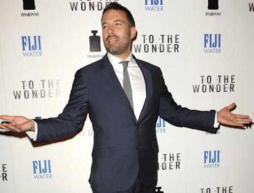 Ben Affleck attends the premiere of 'To The Wonder' at Pacific Design Center on April 9, 2013 in West Hollywood, Calif. -- Getty Premium