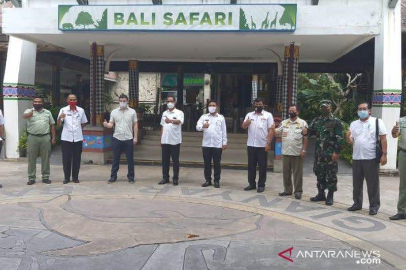 Penuhi protokol kesehatan, Bali Safari dan Tirta Empul siap dibuka