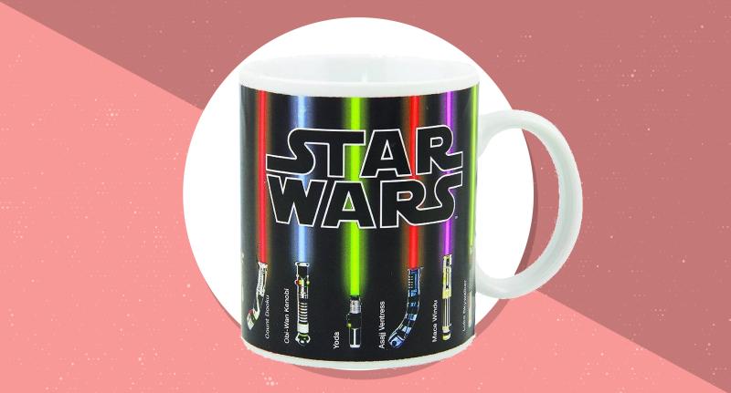 Say good morning with this Star Wars mug. (Photo: Amazon)