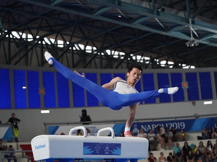 「翻滾吧,阿凱!」 李智凱的體操之路