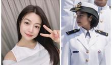 國軍少尉撞臉陳妍希 太美惹暴動