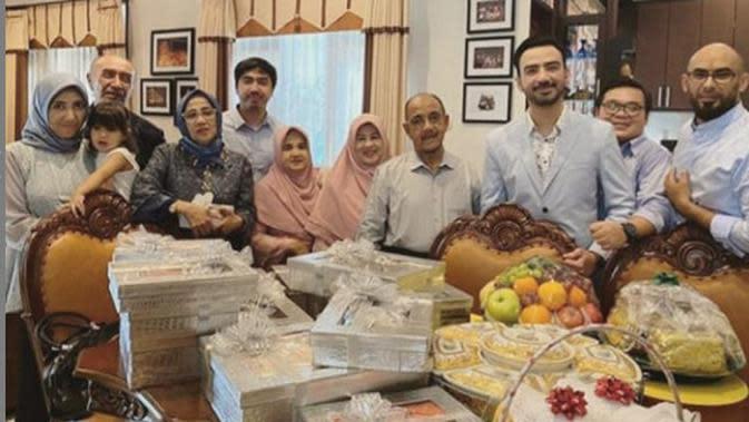Momen Reza DA abreng keluarga yang jarang tersorot. (Sumber: Instagram/@reza_zakarya_daa)