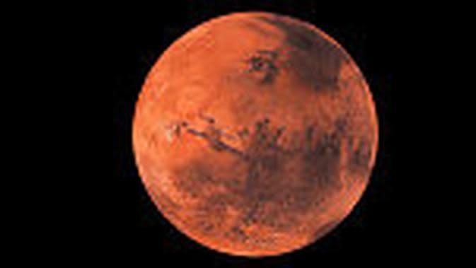 Planet Mars. (iStockphoto)