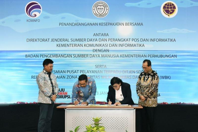 Kominfo-Kemenhub sepakat tingkatkan kompetensi nelayan gunakan radio
