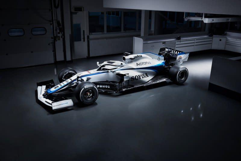 Williams tampil dengan livery baru di seri pembuka Formula 1